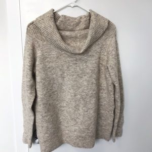 Aritzia Wilfred Free Cowl Neck Sweater